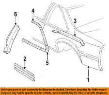 Chevrolet GM OEM 89-90 Beretta Fender-Molding Trim Left 10177019