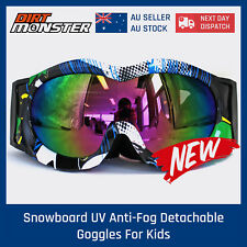 NEW Kids Anti UV Dust Motorcycle Motorbike Goggles Glasses Off Road Gear Eyewear
