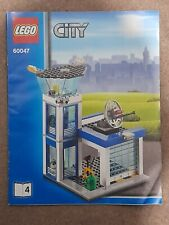 INSTRUCTION BOOK 4 ONLY 60047 LEGO CITY POLICE TOWER MANUAL BOOK