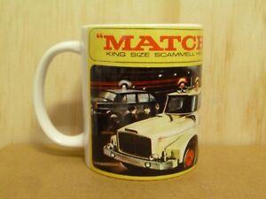 300ml COFFEE MUG, MATCHBOX LESNEY KING SIZE K-2 SCAMMELL ESSO WRECK TRUCK