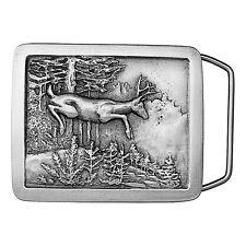 Leaping Deer Belt Buckle 01-J97 IMC-Retail