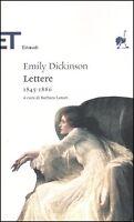 Lettere 18451886, EMILY DICKINSON, EINAUDI STRUZZI COD.9788806184834