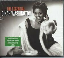 Dinah Washington - The Essential [The Best Of / Greatest Hits] 2CD NEW/SEALED