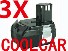 3 Batteries For Hitachi 18VB Li-ion 3.0Ah EBM1830 BCL1815 HeavyDuty Hammer Drill