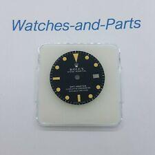 Rolex GMT-MASTER 1675 Mark 1 Long E Matte Black Watch Dial MK1 GENUINE ORIGINAL