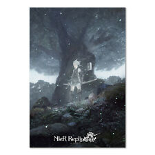 NieR Replicant ver.1.22474487139... Game Poster Official Key Art - High Quality