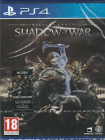 Middle-earth: Shadow of War (PS4) Brand new and sealed