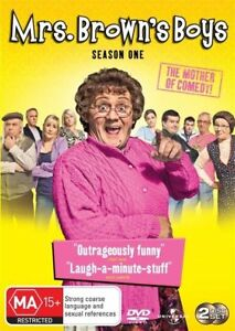 """Mrs. Brown's Boys : Series 1 (DVD) Region 4 """"NEW AND SEALED"""""""