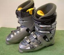 Salomon Evolution Carve Control Ski Boots   , Size Mondo 26 UK 7.5 in Silver