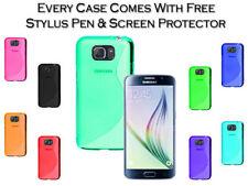 Étuis, housses et coques noirs Samsung Galaxy S7 en silicone, caoutchouc, gel pour téléphone mobile et assistant personnel (PDA)