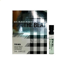 Burberry The Beat for Men Eau de Toilette Vial Sample Spray 0.06oz 2ml