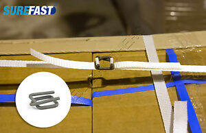 Pallet Strapping Buckles for Plastic Strapping - PHOSPHATED