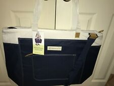 Keep Cool Navy Tote Insulated Shopping Cooler Bag XL Reusable CostCo Shopper NEW