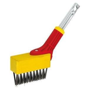 Wolf-Garten Multi-Change Weeding Brush Gardening & Paving Tool Head Attachment