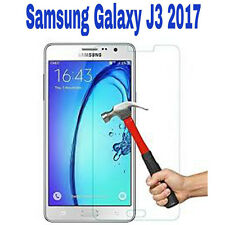 New 100% Genuine Tempered Glass Film Screen Protector For Samsung Galaxy J3 2017