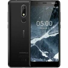 """NOKIA 5.1 TA-1061 Full HD 16GB 5.5"""" Android Unlocked Black A Grade Phone Only"""