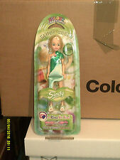SINDY PETITE COLOUR CRAZY GLITZY GREEN  DOLL NRFB BY PEDIGREE PIPPA SIZE