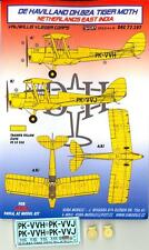 KORA Decals 1/72 DE HAVILLAND D.H.82 TIGER MOTH Netherlands East India Air Force