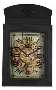 Old Town Square Paris De France 59 Cm Gear Wall Clock.