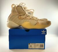 Adidas Crazy Byw X Men's Beige Camo Basketball Shoes Size 11 EE6005