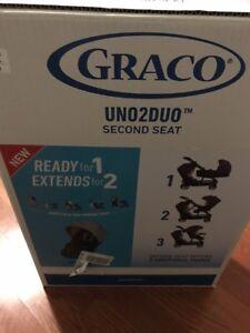 BRAND NEW Graco Uno2Duo Second Stroller Seat Hazel Fashion
