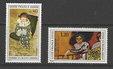 FRANCE # 1431-32  MNH  EUROPA 1975  ART PICASSO