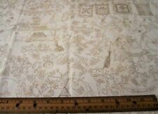 1 yard of SALEM QUILT SHOW on IVORY 100% Cotton Fabric WITCHES HALLOWEEN