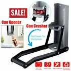 LARGE 2 in 1 WALL MOUNTED 16OZ TIN CAN CRUSHER BEER BOTTLE OPENER RECYCLING TOLN
