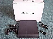 Sony PlayStation 4 500GB Black PS4 ... Fast Shipping!