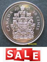 2007 50 cents UNC - Proof Like - Only 1.29$ Each!  ✅ BEST price on eBay