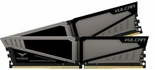 Team Group Vulcan T-force 8gb (2x4gb) Ddr4 Pc4-19200c14 2400mhz Dual Channel Kit