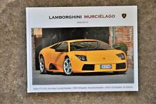 Lamborghini Murciélago. Photo Gallery Book. Printnr: 04/50.