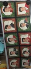 10 OOP Elvis Presley Christmas Panels Cranston 15 x 42 inch cotton fabric
