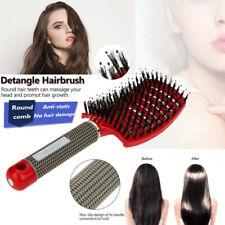 Scalp Massage Comb Hairbrush Bristle Nylon Women Wet Curly Detangle Hair Brush