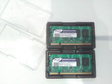 2x 512MB SoDIMM PC2-5300 DDR2 667MHz ADATA memoria RAM notebook laptop 200pins