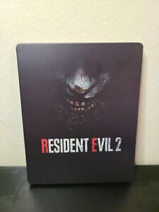 Resident Evil 2 Steelbook case ONLY used vg condition (NO GAME)