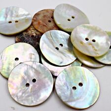"Wholesale Button Lot 100 40L 1"" 25mm Japan Real Pearl Shell Agoya Coat Jacket"