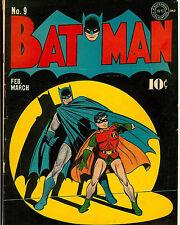 Batman Poster DC Comics Cover Wall Decoration High Quality 16x20