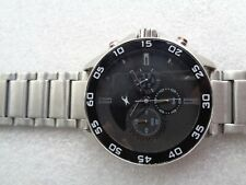 48 MM BIG FACE SS FASTRACK BY TITAN INDIA BLACK DIAL GENTS QUARTZ WRISTWATCH