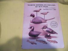 Guyette & Schmidt North American Decoys Auction Catalog Nov 6 & 7 2002 G/Vg