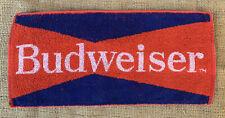 Vintage Red And Blue Budweiser Bar Towel
