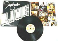 """Foghat ~ """"Live"""" Vinyl Album Bearsville Records BRK-6971, 1977, Stereo, 33 RPM"""
