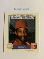 1988 Starting Lineup Talking Baseball Ozzie Smith #17 Free Shipping