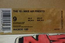 The 10 Nike Air Presto Off-white White 2018 Size 9 Aa3830 100