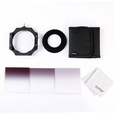 Fotga 4x4 100mm Square Filter Graduated ND2 ND4 ND8 + Holder + 77mm Adapter Ring