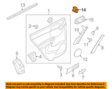 VW VOLKSWAGEN OEM 05-17 Jetta Rear Door-Window Switch 7L6959855BREH