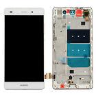 """Vitre Tactile+Ecran LCD+Chassis Remplacement Pour 5""""Huawei P8 Lite ALE-L21 blanc"""