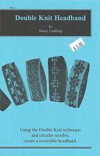 Double Knit Headband Reversible Knitting Pattern Child Adults Nancy Lindberg NL1