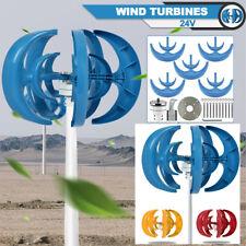 Us 400w Dc 24v 5 Blades Lantern Wind Turbine Generator Vertical Axis Wind Power