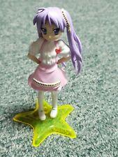 Lucky Star- Kagami Hiiragi- Mini Character Figure- Bandai- Import